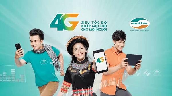 Hướng dẫn đăng ký gói cước 4G/3G của Viettel cập nhật hàng ngày