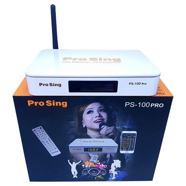 đầu karaoke thông minh prosing ps-100 pro - android tv box chính hãng - hình 01