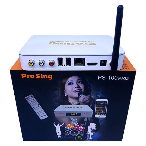 đầu karaoke thông minh prosing ps-100 pro - android tv box chính hãng - hình 02