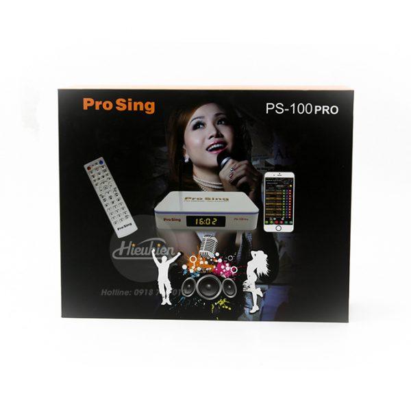 đầu karaoke thông minh prosing ps-100 pro - android tv box chính hãng - hình 05