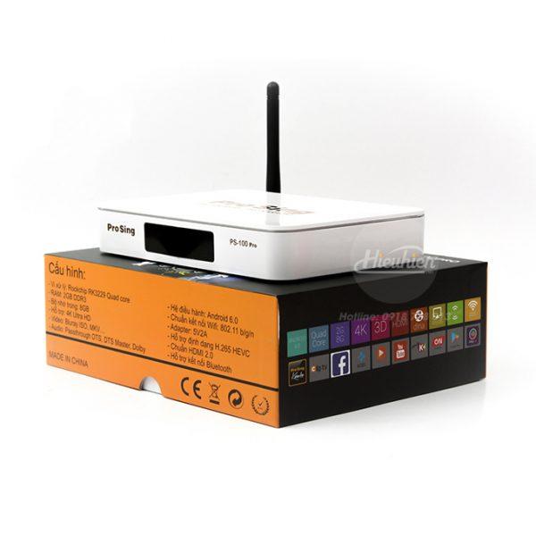 đầu karaoke thông minh prosing ps-100 pro - android tv box chính hãng - hình 06