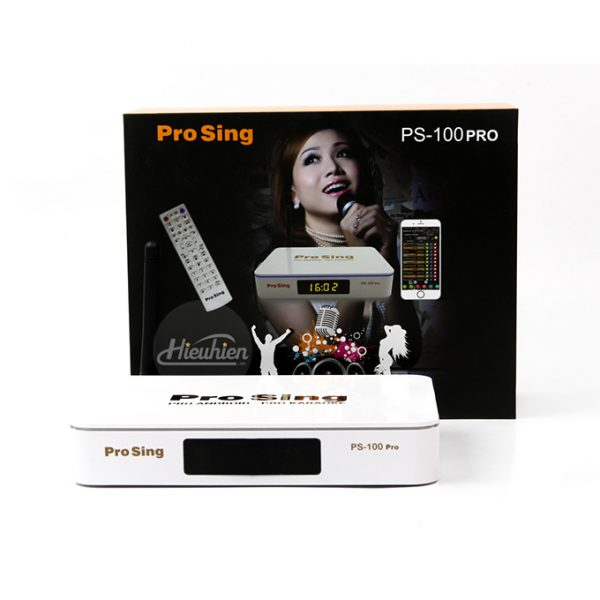 đầu karaoke thông minh prosing ps-100 pro - android tv box chính hãng