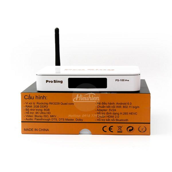 đầu karaoke thông minh prosing ps-100 pro - android tv box chính hãng - hình 08