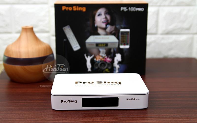 đầu karaoke thông minh prosing ps-100 pro - android tv box - mặt trước