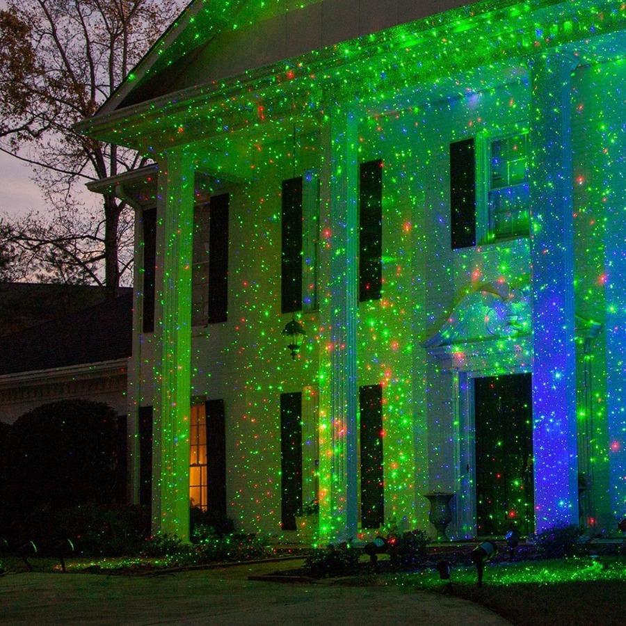 đèn laser star shower trang trí noel + tết sáng cực đẹp - hình 03