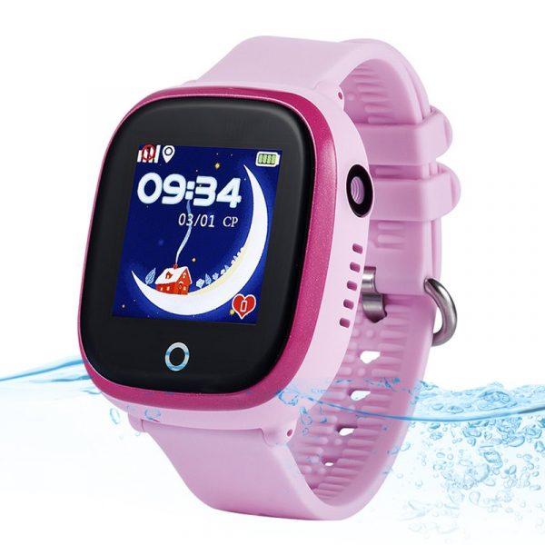 Đồng hồ định vị trẻ em Wonlex GW400X có Camera, chống nước IP67, WiFi/GPS/LBS 04