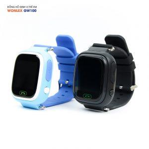 Đồng hồ định vị trẻ em Wonlex GW100, WiFi/GPS/LBS 0
