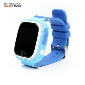 Đồng hồ định vị trẻ em Wonlex GW100, WiFi/GPS/LBS 01