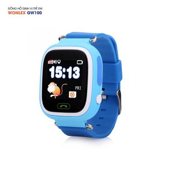 Đồng hồ định vị trẻ em Wonlex GW100, WiFi/GPS/LBS 02