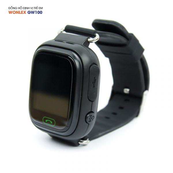 Đồng hồ định vị trẻ em Wonlex GW100, WiFi/GPS/LBS 04