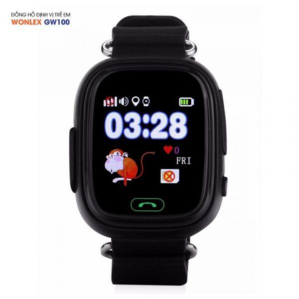 Đồng hồ định vị trẻ em Wonlex GW100, WiFi/GPS/LBS 05