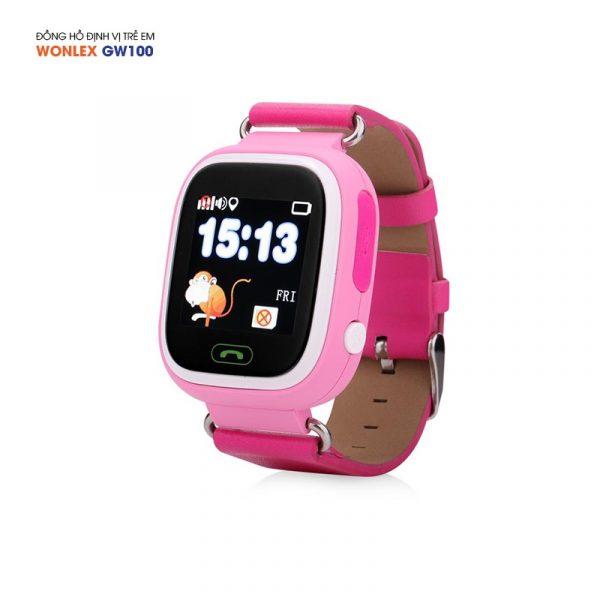 Đồng hồ định vị trẻ em Wonlex GW100, WiFi/GPS/LBS 07