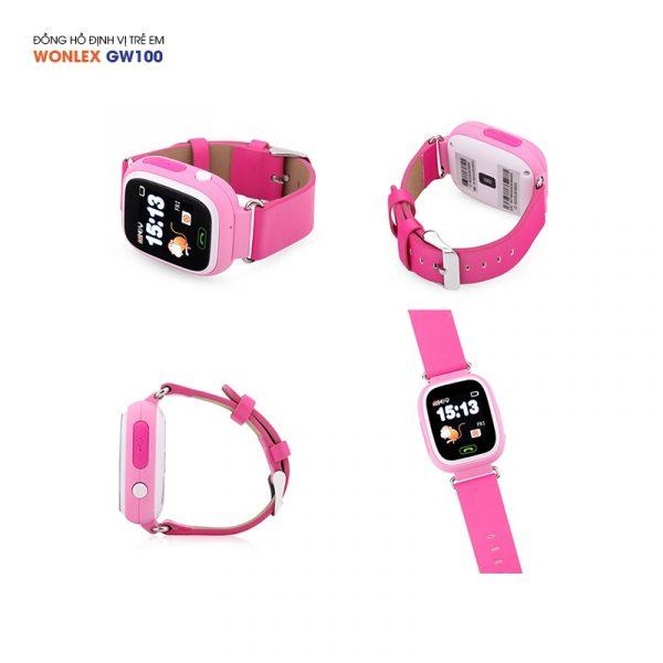 Đồng hồ định vị trẻ em Wonlex GW100, WiFi/GPS/LBS 08