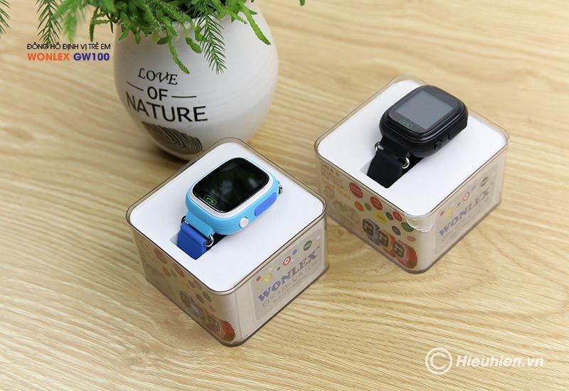 đồng hồ định vị trẻ em wonlex gw100 gps/lbs - hộp