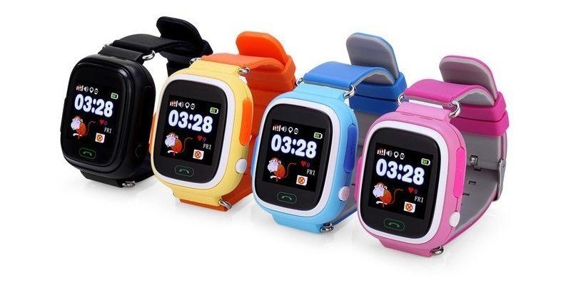 đồng hồ định vị trẻ em wonlex gw100 gps/lbs - mặt trước
