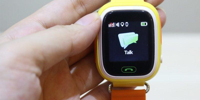đồng hồ định vị trẻ em wonlex gw100 gps/lbs - tin nhắn thoại