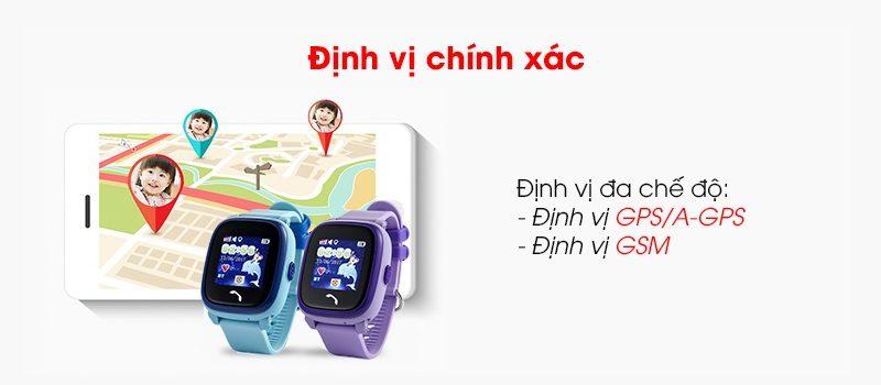 Đồng hồ định vị trẻ em Wonlex GW400S chống nước - hình 01