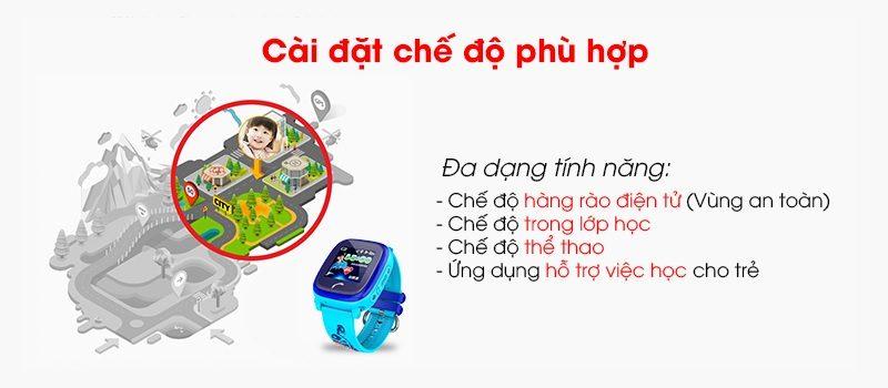 Đồng hồ định vị trẻ em Wonlex GW400S chống nước - hình 10