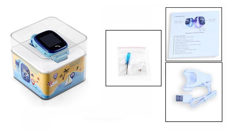 Đồng hồ định vị trẻ em Wonlex GW400S chống nước - hình 18