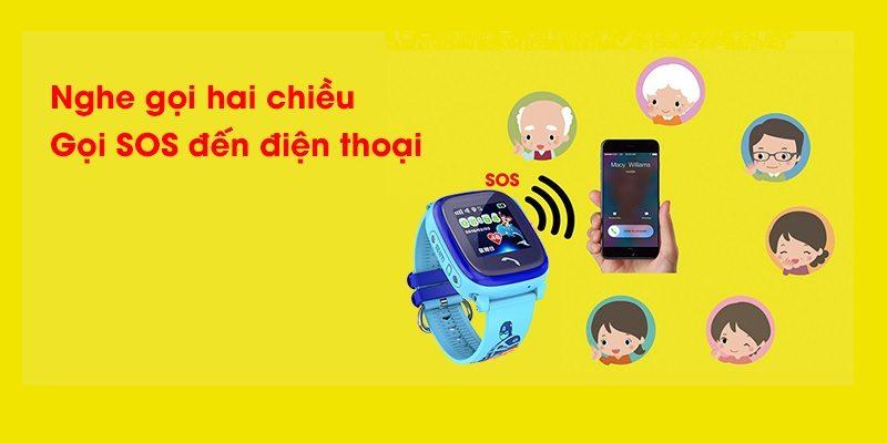 Đồng hồ định vị trẻ em Wonlex GW400S chống nước - hình 06