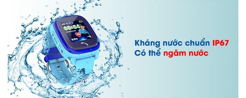 Đồng hồ định vị trẻ em Wonlex GW400S chống nước - hình 09