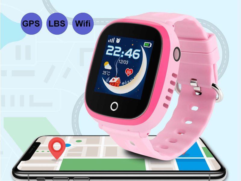 Đồng hồ định vị trẻ em Wonlex GW400X có Camera, chống nước IP67 - hình 01