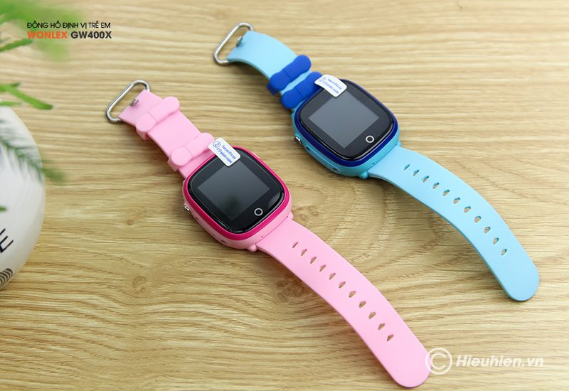 Đồng hồ định vị trẻ em Wonlex GW400X có Camera, chống nước IP67 - hình 04