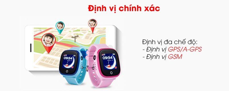 Đồng hồ định vị trẻ em Wonlex GW400X có Camera, chống nước IP67 - hình 05