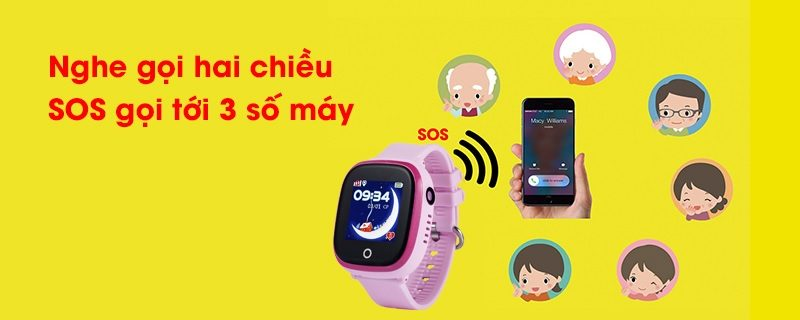 Đồng hồ định vị trẻ em Wonlex GW400X có Camera, chống nước IP67 - hình 06