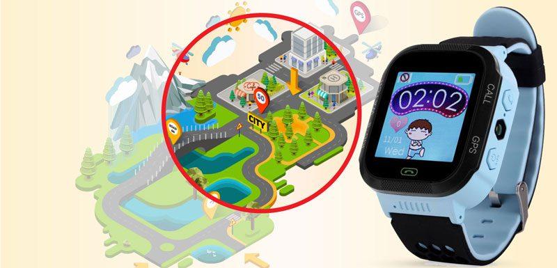 Đồng hồ định vị trẻ em Wonlex GW500S có camera - hình 03