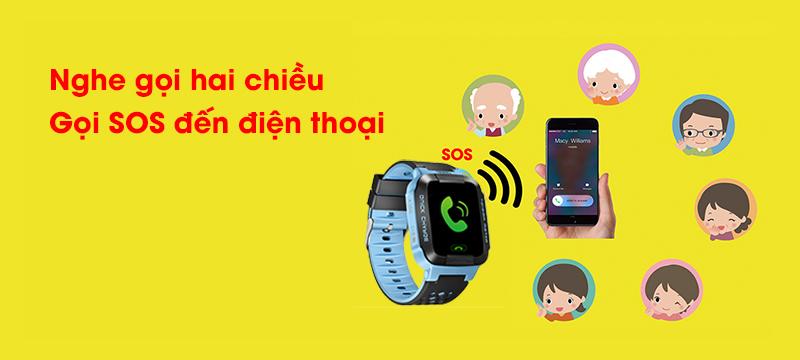 Đồng hồ định vị trẻ em Wonlex GW500S có camera - hình 06