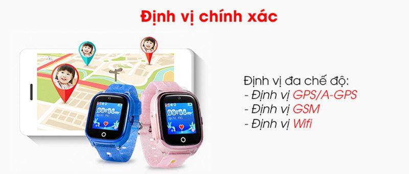 Đồng hồ định vị trẻ em Wonlex KT01 chống nước - hình 03