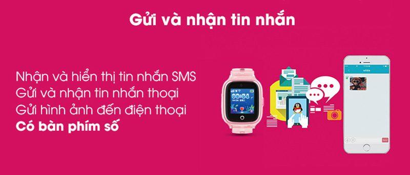 Đồng hồ định vị trẻ em Wonlex KT01 chống nước - hình 05