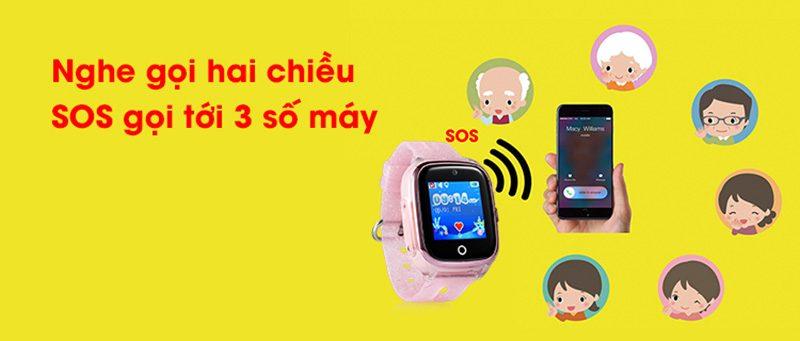 Đồng hồ định vị trẻ em Wonlex KT01 chống nước - hình 06