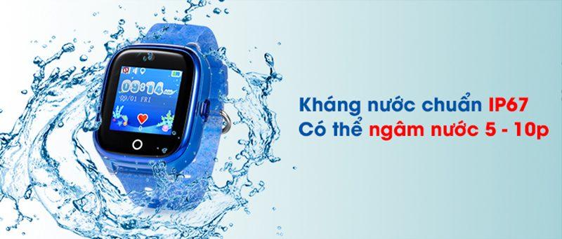 Đồng hồ định vị trẻ em Wonlex KT01 chống nước - hình 01