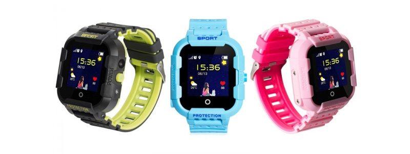 Đồng hồ định vị trẻ em Wonlex KT03 có Camera, chống nước IP67 - 3 màu