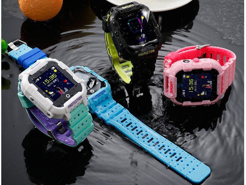 Đồng hồ định vị trẻ em Wonlex KT03 có Camera, chống nước IP67 - đi mưa