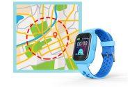 Đồng hồ định vị trẻ em Wonlex KT04 chống nước IP67, hỗ trợ Camera - maps