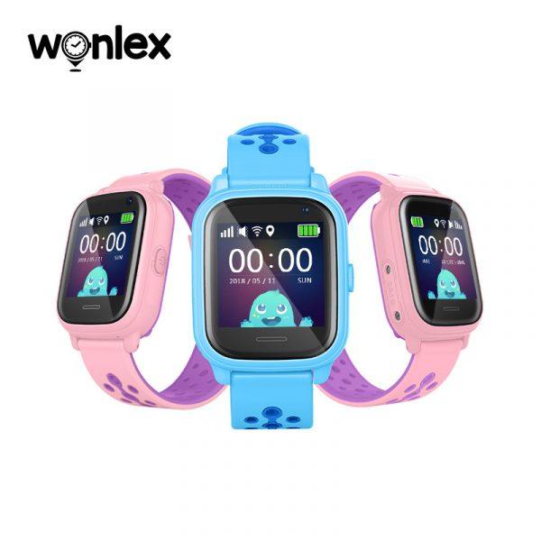 Đồng hồ định vị trẻ em Wonlex KT04 chống nước IP67, hỗ trợ Camera 0
