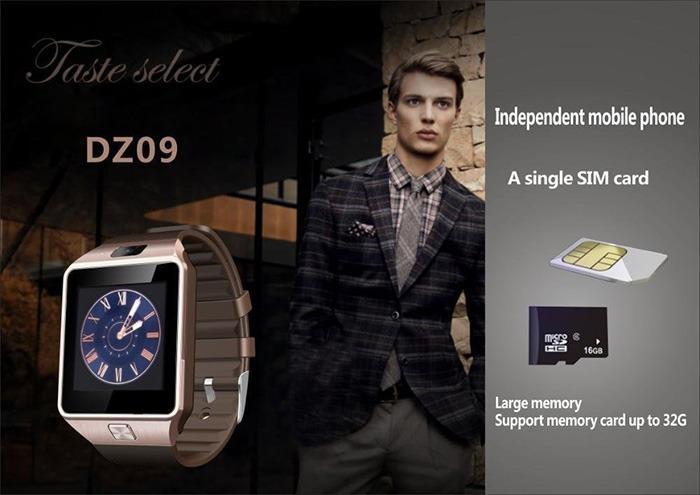 dong ho thong minh smart watch dz09 gia re 09
