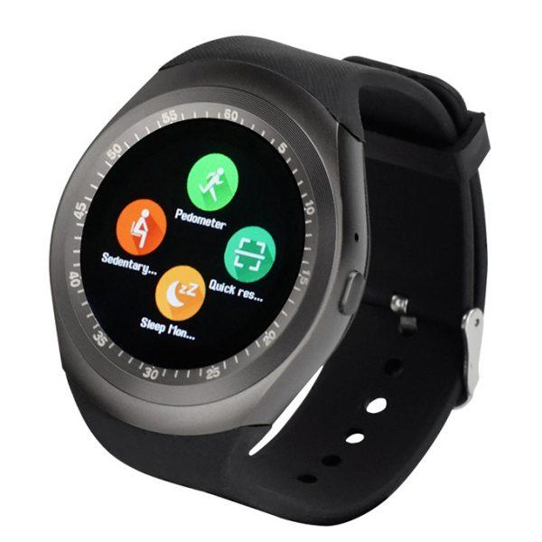 Đồng hồ thông minh Smartwatch Y1 tính năng độc đáo, thiết kế sang trọng 02