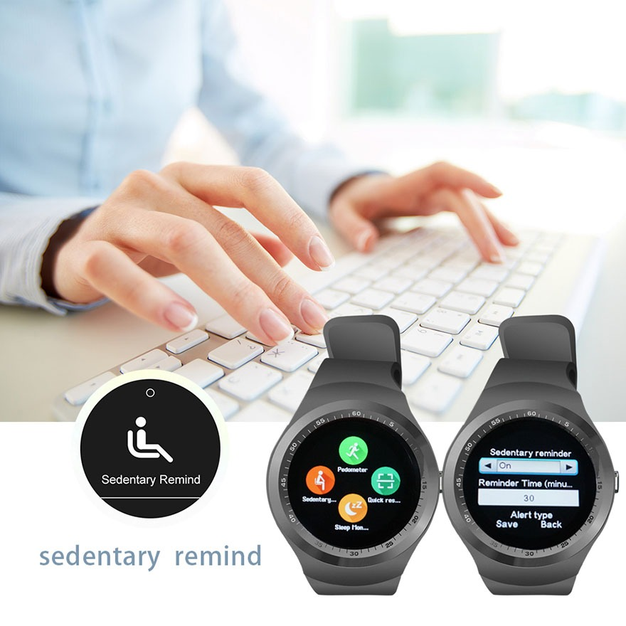 dong ho thong minh y1 - smartwatch mat tron y1 gia re 16