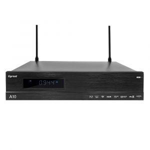 Egreat A10 đầu phát 4K HDR Blu-ray HDD Player chuyên nghiệp, Android TV Box 2GB/16GB