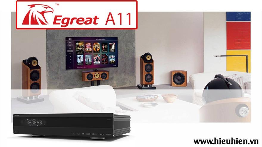 egreat a11 - đầu phát 4k media player, đầu karaoke android cao cấp - bản nâng cấp đặc biệt