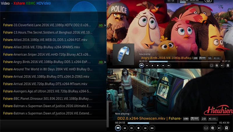 Egreat A5 Android TV Box kiêm đầu phát 4K HDR, đầu karaoke gia đình - Tặng chuột bay KM800 - phim hd chất lượng