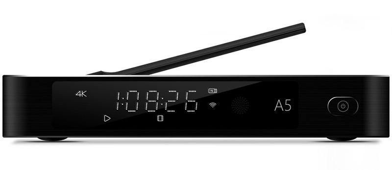 Egreat A5 Android TV Box kiêm đầu phát 4K HDR, đầu karaoke gia đình - Tặng chuột bay KM800 - màn hình led