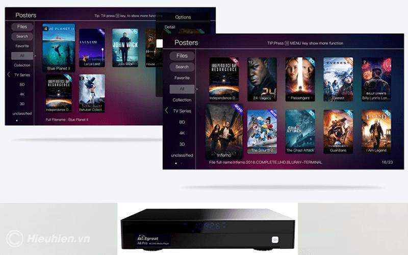 egreat a8 pro android tv box cao cấp - hình 01