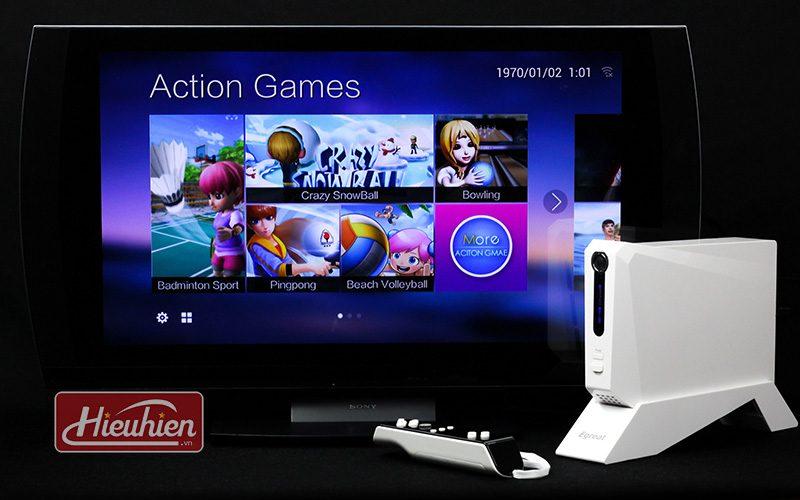 egreat k3 hộp trò chơi vận động dành cho android tv box gamepad - chơi trên tv
