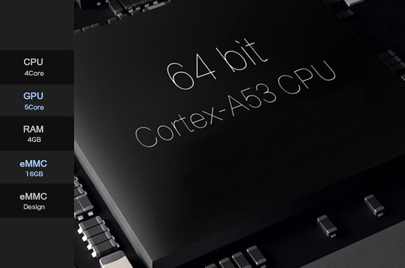 enybox a5x max 4gb/32gb android 8.1 tv box rockchip rk3328 chính hãng - chip 64 bit