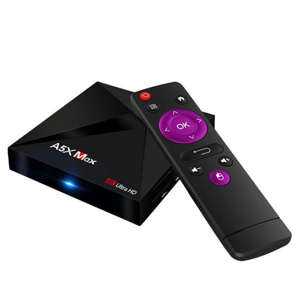 enybox a5x max 4gb/16gb android 8.1 tv box rockchip rk3328 chính hãng